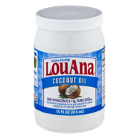 LouAna Pure Coconut Oil 14oz Jar product image