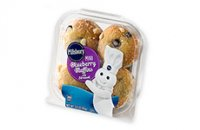 Pillsbury Mini Blueberry Muffins 4PK  3oz product image
