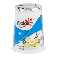 Yoplait Light Fat Free Yogurt Very Vanilla 6oz Cup product image