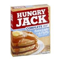 Hungry Jack Complete Pancake & Waffle Mix Extra Light & Fluffy 32oz Box product image