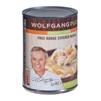 Wolfgang Puck Organic Free Range Chicken Noodle Soup 14.5oz Can product image