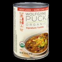 Wolfgang Puck Organic Soup Signature Tortilla 14.5oz Can product image
