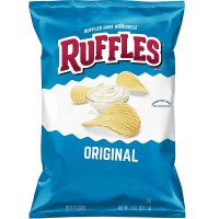 Ruffles Potato Chips Original 9oz Bag product image