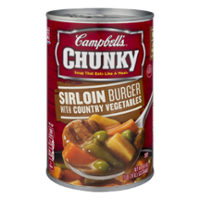 Campbell's Chunky Soup Sirloin Burger With Country Vegetables 18.8oz Can product image