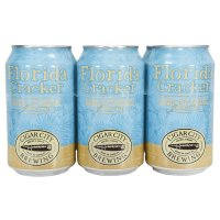Cigar City Brewing Florida Cracker Belgian Style White Ale Beer 6CT 12oz Cans *ID Required* product image
