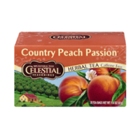 Celestial Seasonings Country Peach Passion Caffeine Free Herbal Tea Bags 20CT Box product image