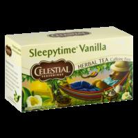 Celestial Seasonings Sleepytime Vanilla Caffeine Free Herbal Tea Bags 20CT Box product image