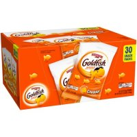 Pepperidge Farm Goldfish Crackers Cheddar 1.5oz Pouches 30Count Box product image