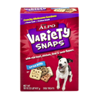Purina Alpo Variety Snaps Little Bites with Real Beef, Chicken, Liver & Lamb Flavors 32oz Box product image