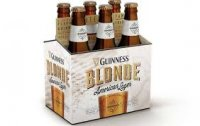 Guinness Blonde American Lager Beer 6CT 12oz Bottles *ID Required* product image