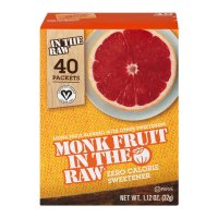 Monk Fruit in the Raw Zero Calorie Sweetener Packets 40CT Box product image