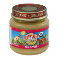 Earth's Best Organic Stage 1 First Apples 2.5oz Jar product image