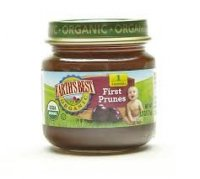 Earth's Best Organic Stage 1 First Prunes 2.5oz Jar product image