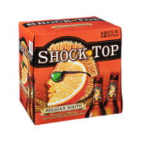 Shock Top Belgian White Wheat Ale Beer 12PK Bottles *ID Required* product image