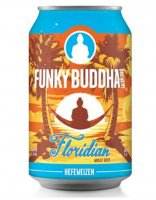 Funky Buddha Floridian Hefeweizen Beer 6CT 12oz Cans *ID Required* product image