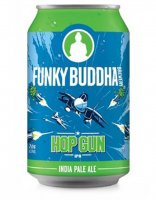 Funky Buddha Hop Gun IPA Beer 6CT 12oz Cans *ID Required* product image