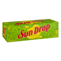 Sun Drop Citrus Soda 12 Pack of 12oz Cans product image