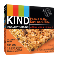 Kind Gluten Free Granola Bars Peanut Butter Dark Chocolate 5CT Box 6.2oz product image