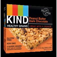 Kind Gluten Free Granola Bars Peanut Butter Dark Chocolate 5CT Box 6.2oz product image