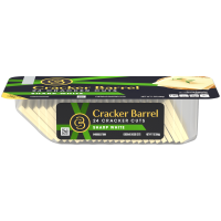 Cracker Barrel Cracker Cuts Sharp White Cheddar 24 Cracker Cuts 7oz PKG product image