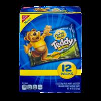 Nabisco Teddy Grahams Honey Graham Snacks 12 Pack Box 12oz product image