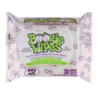 Boogie Wipes Simply Unscented 30 Wipes product image