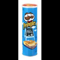 Pringles Potato Crisps Salt & Vinegar 5.5oz Can product image