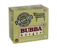 Bubba Burger Frozen Grass-Fed All Natural 100% USDA Beef Patties 4CT 1LB Box product image