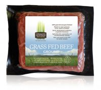 Strauss Free Raised Grass Fed Ground Beef 85% 16oz product image