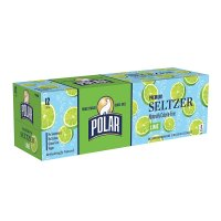 Polar Seltzer Water Lime 12PK of 12oz Cans product image