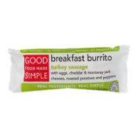 Good Food Made Simple Breakfast Burrito Turkey Sausage 5oz product image