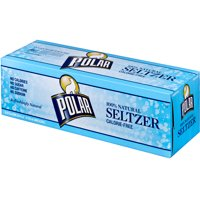 Polar 100% Natural Seltzer Water 12PK of 12oz Cans product image