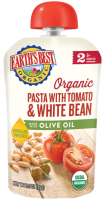 Earth's Best Organic Pasta with Tomato & White Bean 3.5oz Pouch product image