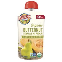Earth's Best Organic Baby Food Butternut Squash Pear 4oz Pouch product image