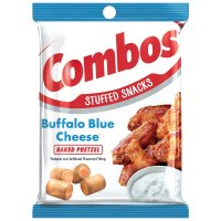 Combos Baked Snacks Buffalo Blue Cheese Pretzel 6.3oz Bag product image