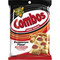Combos Baked Snacks Pepperoni Pizza Cracker 6.3oz Bag product image