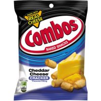 Combos Baked Snacks Cheddar Cheese Cracker 6.3oz Bag product image
