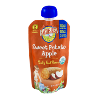 Earth's Best Organic Stage 2 Sweet Potato Apple Baby Food Puree 4oz Pouch product image