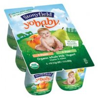 Stonyfield Farm YoBaby Yogurt Peach/Pear 6CT PKG 24oz product image