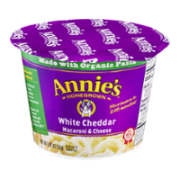 Annie's Homegrown Macaroni & Cheese White Cheddar 2.01oz Cup product image