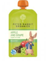 Peter Rabbit Organics Apple & Grape Fruit Snack 4oz Pouch product image