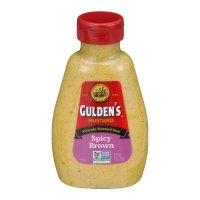 Guldens Spicy Brown Mustard 8oz squeeze bottle product image