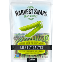Harvest Snaps Lightly Salted Snapea Crisps 3.3oz Bag product image