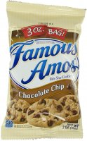 Famous Amos Chocolate Chip Cookies 3oz PKG product image