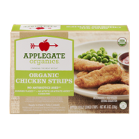 Applegate Organics Chicken Strips 8CT 8oz Box product image