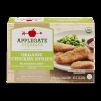 Applegate Organics Chicken Strips 8CT 8oz Box product image
