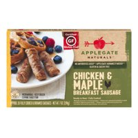 Applegate Naturals Chicken & Maple Breakfast Sausage Links 10CT 7oz Box product image