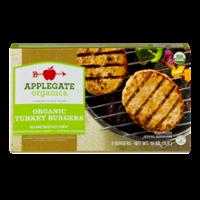 Applegate Organics Turkey Burgers 4CT 16oz  Box product image