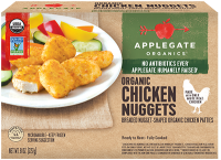 Applegate Organic Chicken Nuggets 15CT 8oz Box product image