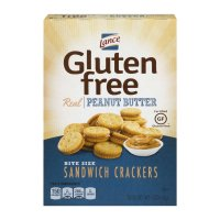 Lance Gluten Free Bite Size Sandwich Crackers Peanut Butter 5oz Box product image